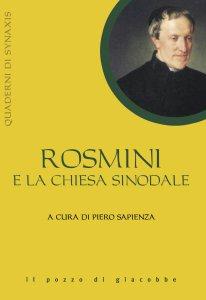 Copertina di 'Rosmini e la chiesa sinodale'
