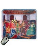 """Mousepad """"Gesù innanzi a Caifa e Anna"""" - Giotto"""