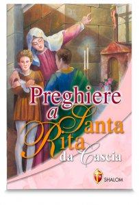 Copertina di 'Preghiere a santa Rita da Cascia'