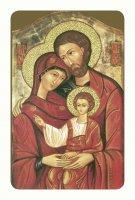 """Card pvc con preghiera """"Sacra Famiglia"""""""