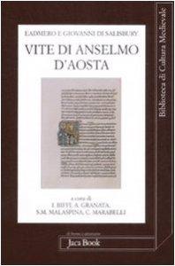 Copertina di 'Vite di Anselmo d'Aosta'
