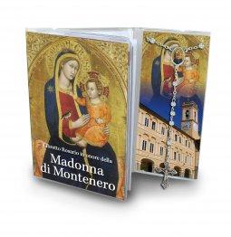 Copertina di 'Libretto con Rosario Madonna di Montenero - Italiano'
