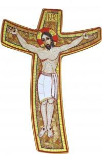 Copertina di 'Croce della Misericordia di Padre Rupnik cm 23x33'
