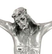 Immagine di 'Corpo di cristo in metallo argentato cm 13'