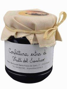 Copertina di 'Confettura extra di Frutti del Sambuco 220 gr.'