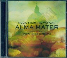 Copertina di 'ALMA MATER. Musica dal Vaticano con la partecipazione di Benedetto XVI'