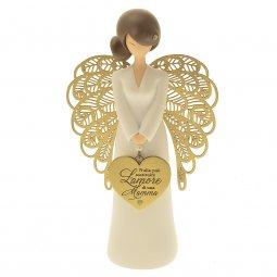 Copertina di 'Statuetta angelo 'Amore di mamma''