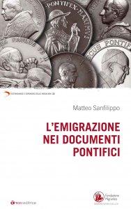 Copertina di 'Emigrazione  nei documenti pontifici. (L')'