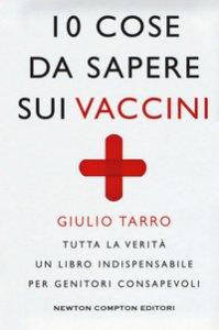 Copertina di '10 cose da sapere sui vaccini'