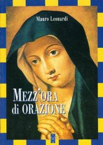 Copertina di 'Mezz'ora di orazione'
