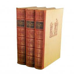 Copertina di 'La Sacra Bibbia. Ed.S.A.I.E. 3 volumi senza cofanetto'