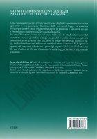 Immagine di 'Gli atti amministrativi generali nel Codice di Diritto Canonico'