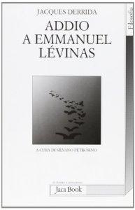 Copertina di 'Addio a Emmanuel Lévinas'