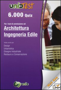 Copertina di '6.000 quiz per i test di ammissione ad architettura e ingegneria edile. Con aggiornamento online'