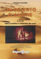 Un deserto d'amore, vol. 2 - Malerba Francesco