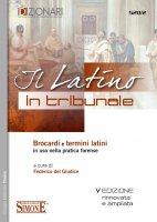 Il Latino in Tribunale - Federico del Giudice