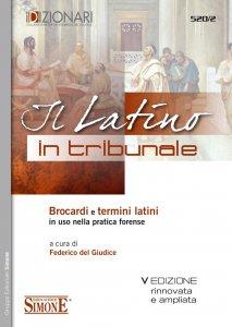 Copertina di 'Il Latino in Tribunale'