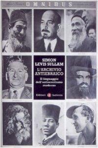 Copertina di 'L'archivio antiebraico'