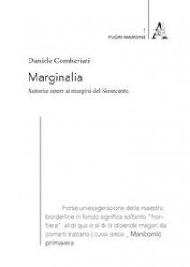 Copertina di 'Marginalia. Autori e opere ai margini del Novecento'