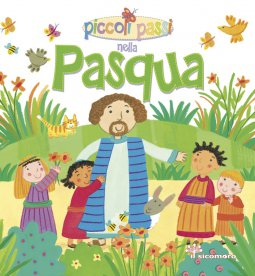 Copertina di 'Piccoli passi nella Pasqua.'