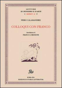 Copertina di 'Colloqui con Franco'