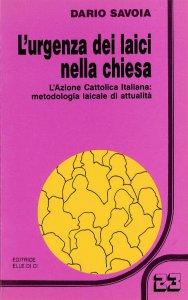 Copertina di 'L' urgenza dei laici nella Chiesa'