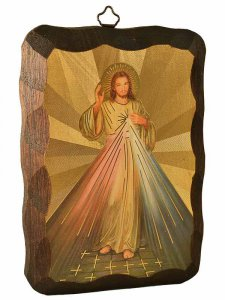 Copertina di 'Quadretto in legno Gesù misericordioso'