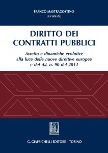Copertina di 'Diritto dei contratti pubblici'