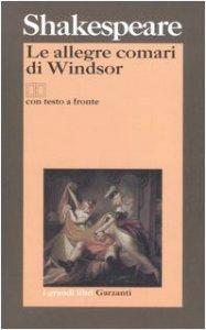 Copertina di 'Le allegre comari di Windsor. Testo inglese a fronte'