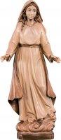 Statua della Madonna delle Grazie in legno, 3 toni di marrone, linea da 30 cm - Demetz Deur