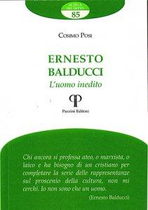 Copertina di 'Ernesto Balducci. L'uomo inedito'