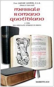 Copertina di 'Messale romano quotidiano'