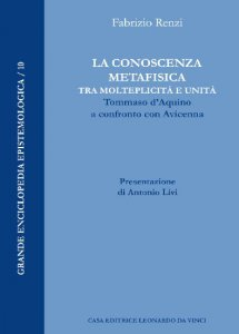 Copertina di 'Conoscenza metafisica tra molteplicità e unità'