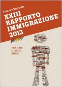 Copertina di 'XXXIII Rapporto Immigrazione 2013. Tra crisi e diritti umani'