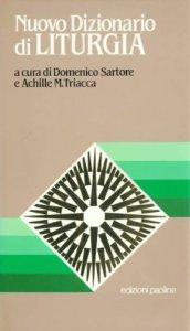 Copertina di 'Nuovo dizionario di liturgia'