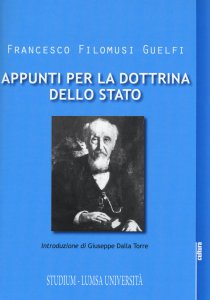 Copertina di 'Appunti per la dottrina dello Stato'