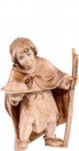Copertina di 'Bimbo con frutta H.K. - Demetz - Deur - Statua in legno dipinta a mano. Altezza pari a 11 cm.'