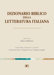 Copertina di 'Dizionario biblico di letteratura italiana'