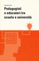 Pedagogisti e educatori tra scuola e università - Cives Giacomo