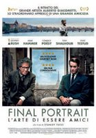Final portrait. L'arte di essere amici