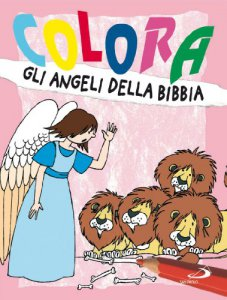 Copertina di 'Colora gli angeli della Bibbia'