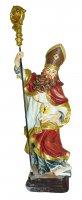 Statua di Sant'Ambrogio da 12 cm in confezione regalo con segnalibro