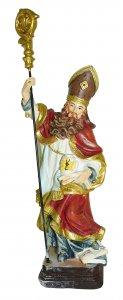 Copertina di 'Statua di Sant'Ambrogio da 12 cm in confezione regalo con segnalibro'