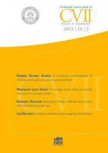 Copertina di 'Centro Vaticano II - Studi e Ricerche'