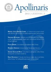 Copertina di 'Il Sinodo dei Vescovi nella vita e nel Diritto della Chiesa. Tra collegialità episcopale e sinodalità'