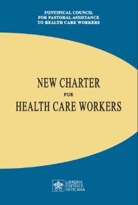 Copertina di 'New charter for health care workers'