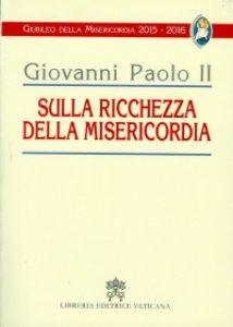 Copertina di 'Sulla ricchezza della misericordia'