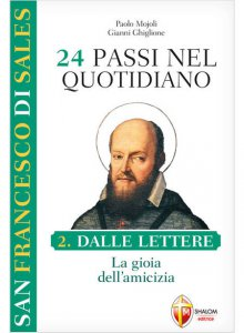 Copertina di 'San Francesco di Sales. 24 passi nel quotidiano vol.2'