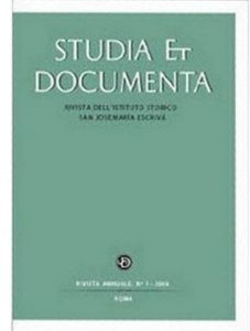 Studia et Documenta - Vol.1 2007