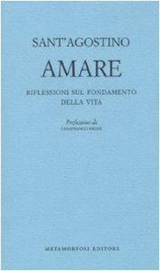 Copertina di 'Amare'